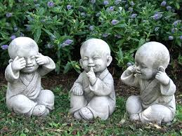 monks perfectly detailed garden statue japanese statues for stone