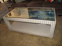 creative coffee tables industrial glass