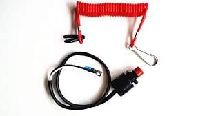 amazon com southmarine boat motor kill stop switch safety tether image unavailable