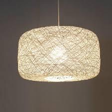 asian pendant lights white 157 inch diameter rope shade asian pendant lighting