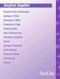 Surgical Supplies Manualzz Com