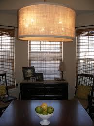 drum pendant lighting for dining room modern over table mini drum pendant lighting fabric