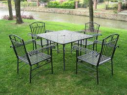 Metal Outdoor Patio Furniture Sets Home Design Ideas