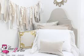 neutral tan white dorm room farmhouse stye shabby chic
