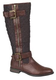 WOMENS QUILTED RIDING BIKER KNEE HIGH BOOTS FLAT BUCKLE LADIES ... & WOMENS QUILTED RIDING BIKER KNEE HIGH BOOTS FLAT BUCKLE LADIES SHOES SIZE  UK 3-8 Adamdwight.com