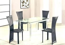 rectangular glass dining room tables glass dining room table bases glass rectangular dining table high class