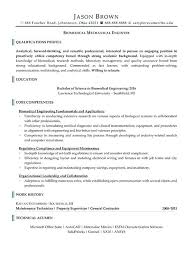Biomedical Engineering Manager Sample Resume Adorable Engineer Resume Examples Letsdeliverco