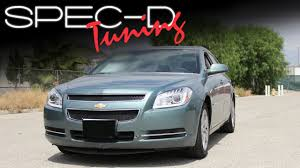2008 Chevy Malibu Halo Lights Specdtuning Installation Video 2008 2012 Chevy Malibu Projector Headlights