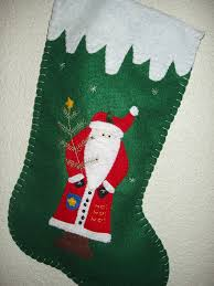 Handmade Christmas Stockings Amazoncom Personalized Handmade 16 Christmas Stocking Santa