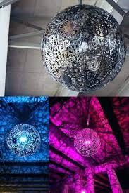 disco ball ceiling fan industrial church stage design ideas chandelier gold ch