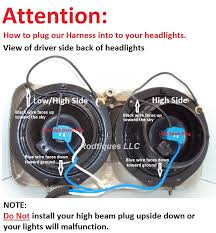 cadillac headlight relay wiring harness 4 head lamp systems fix rodtiques headlight relay harness was designed w better newer shorter heavy duty wires relay directly powered by the battery for maximum brightness