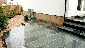 Small Picture Exeter Black Slate Patio Paving Exeter Scape Landscaping and
