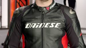 dainese racing d1 leather jacket review at revzilla com