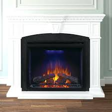 gas vs electric fireplace napoleon inch electric fireplace mantel package with inch ascent firebox white nefp gas vs electric fireplace