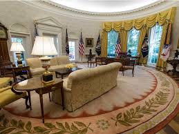 the white house oval office. White House The Newly Renovated Oval Office Seen Tuesday During A Media Tour.Carolyn Kaster (Associated Press) Business Insider UK
