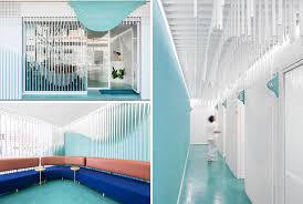 dental office interior. Masquespacio Have Designed Somriures, A New Modern Dental Clinic In Small Town Spain Office Interior