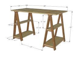 sawhorse table legs wood sawhorse table legs