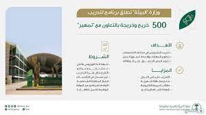 شروط ورابط التسجيل في برنامج وزارة البيئة والمياه والزراعة تمهير - ثقفني
