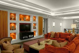 Wall niche lighting Deep Wall Wall Niche Lighting Family Room Contemporary With Tray Ceiling Ceiling Lighting 634x424 13 Of The Fantastic Viewpoint 13 Of The Most Stunning Illuminated Wall Niches To Enjoy Daily