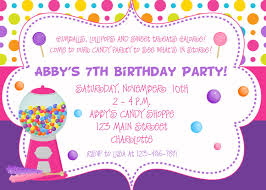 Birthday Party Invitation Invitation For Under Fontanacountryinn Com