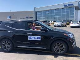 kevin taking test drive at van horn of fond du lac