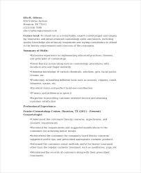 Cosmetology Graduate Resume Resume Paper Ideas