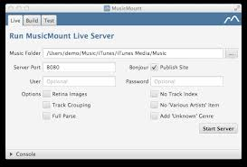 MusicMount Live Command