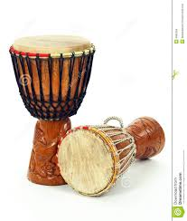African Drum Designs Two African Djembe Drums Stock Photo Image Of Circular