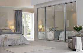 bedroom mirrored bifold closet doors