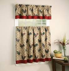 images rooster kitchen curtains