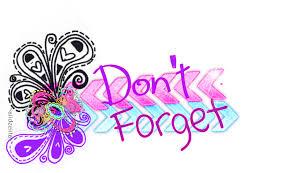 Image result for reminder clip art