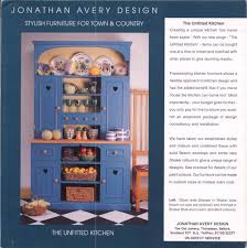 Unfitted Kitchen Furniture Graphic Design Jonathan Avery