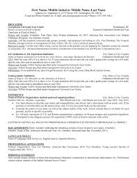 Phone Number On Resume Resume Template Georgetown University Law Center