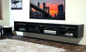 floating entertainment center ikea wall espresso shelves elegant stand entertainme