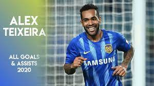 Alex Teixeira ○ Season 2020 ○ All goals & assists ○ Jiangsu Suning ○  Chinese Super League - YouTube
