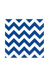 Light Blue Chevron Paper Napkins Bright Royal Blue Chevron Lunch Napkins Pack Of 24 In 2019