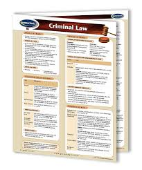 Permacharts Criminal Law Chart Science Lab Equipment