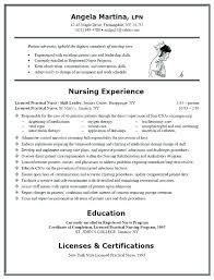 Lpn Resume Objective Nursing Resume Objective New Graduate Nursing