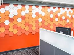 wall tiles for office. Kirei EchoPanel Geometric Acoustic Tiles Wall Tiles For Office