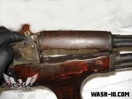 Refinishing AK 47 Woodwork