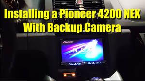 pioneer 4200. pioneer 4200 nex installation with backup camera - saturn sky pontiac solstice i