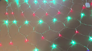 JIAEN Waterproof Decorative <b>LED Net Mesh</b> Fairy String <b>Light</b> with 8 ...