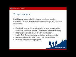 Guide To Safe Scouting Chart Webelos To Scout Transition Northern Lights Council Boy