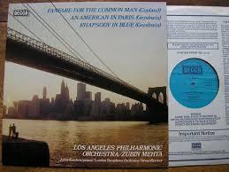 copland orchestral works gershwin copland orchestral works zubin mehta lapo julius