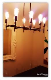 chandelier with tesla light bulb and dimmer switch installation
