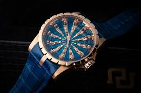 roger dubuis launches excalibur knights of the round table iii