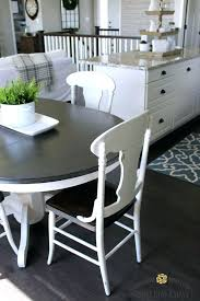 kitchen dining table and chairs farmhouse style painted kitchen table and chairs makeover neutral decor and