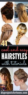 Easy Hairstyles On The Go 25 Best Ideas About Back To School Hairstyles On Pinterest Easy