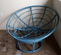 papasan furniture. blue rattan papasan chair for home furniture ideas