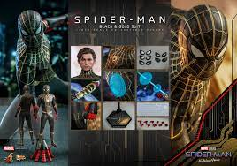 Spider-Man: No Way Home' Black and Gold ...